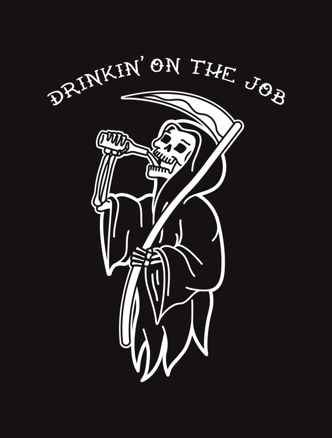 Drinkin' On The Job · Dukes V-Neck
