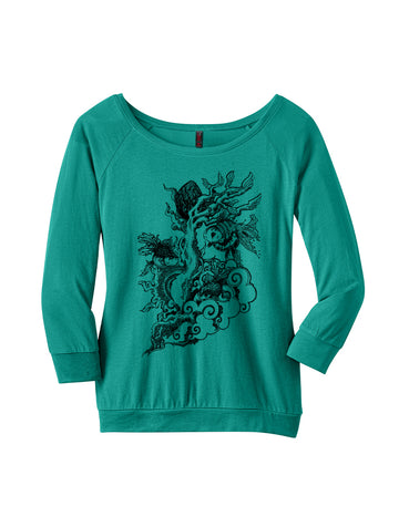 Aqua Life Katie Scott Ladies Raglan