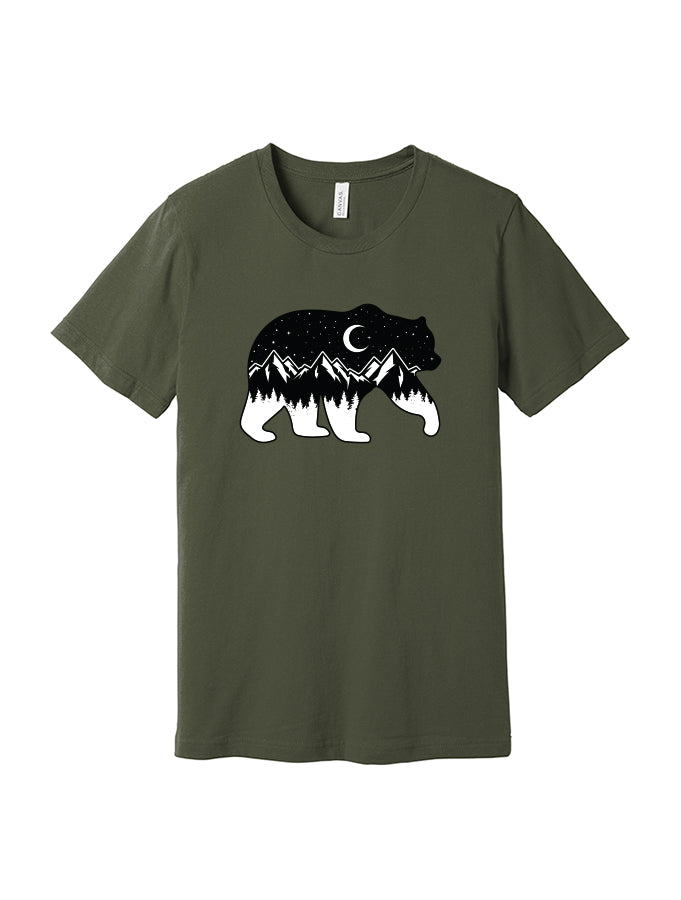Melanie Peterson - Night Sky Bear - Dukes Tee