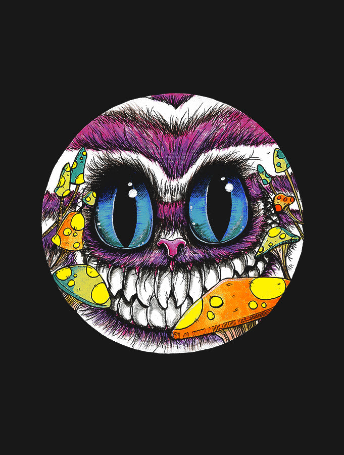 Cheshire Cat · Zip-up Hoodie