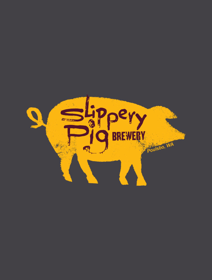 Slippery Pig Brewery · Charcoal Tee