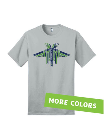 Hawks '19 · Seattle Colors · Dukes Tee