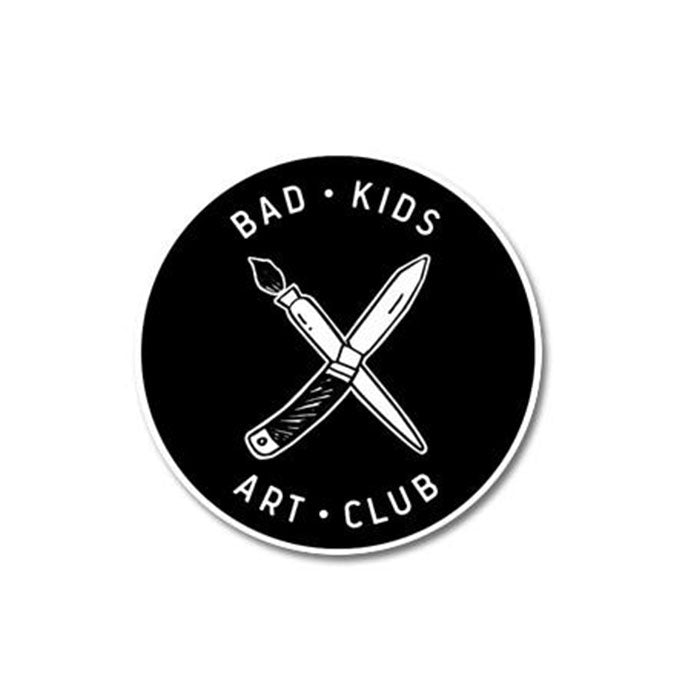 Bad Kids Art Club Patch Print Ritual