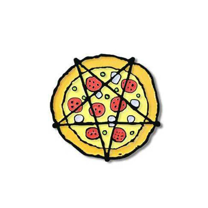 Hail Pizza Enamel Pin