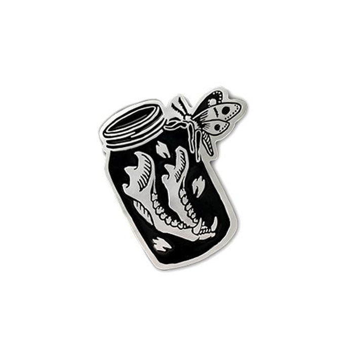 Jaw Bone in Jar • Enamel Pin