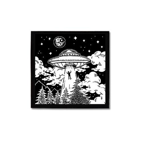Alien Abduction • Canvas Patch