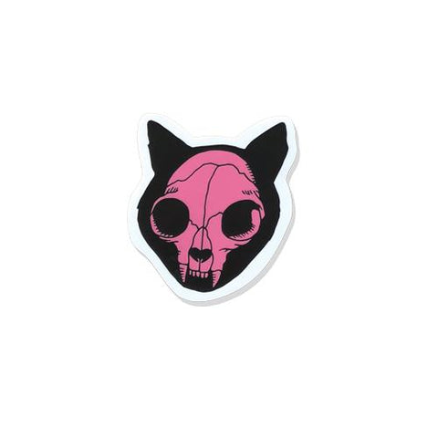 Cat Skull • Vinyl Sticker