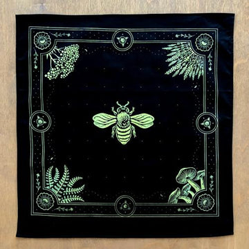 Honey Bee · Black Bandana