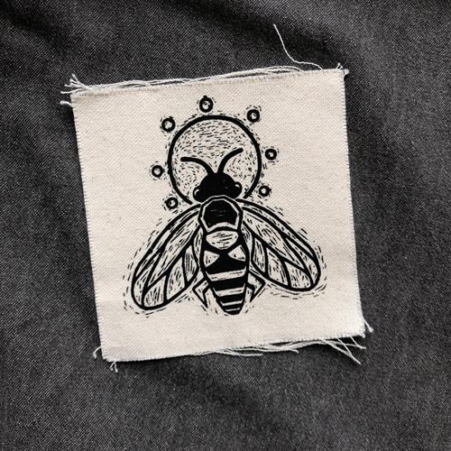 Honey Bee • Canvas Patch