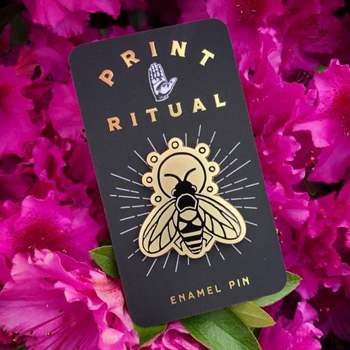 Honey Bee • Enamel Pin