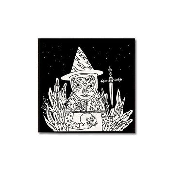Forest Witch Patch James Vandemark Print Ritual