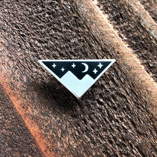 Mountain Moonlight · Enamel Pin