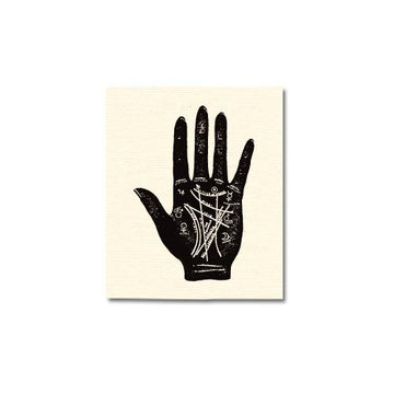 Palm Reading Canvas Patch