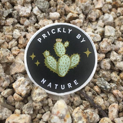 Prickly by Nature • Iron-on Patch