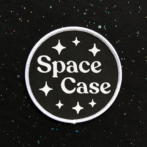Space Case Iron-on Patch