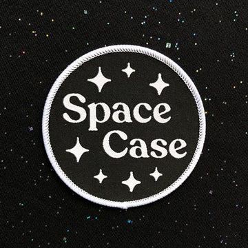 Space Case · Iron-on Patch