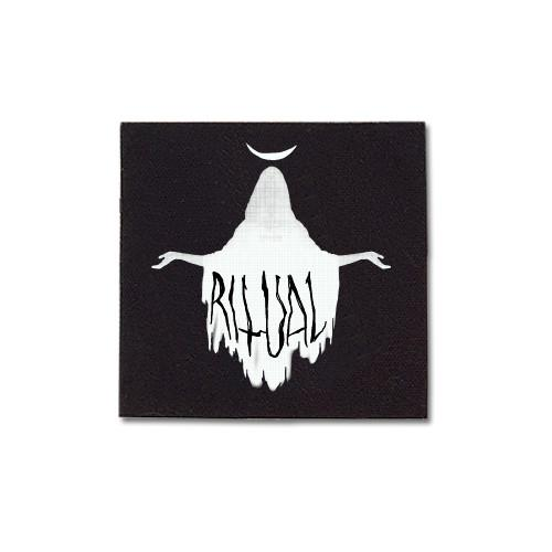 Priestess Canvas Patch Print Ritual