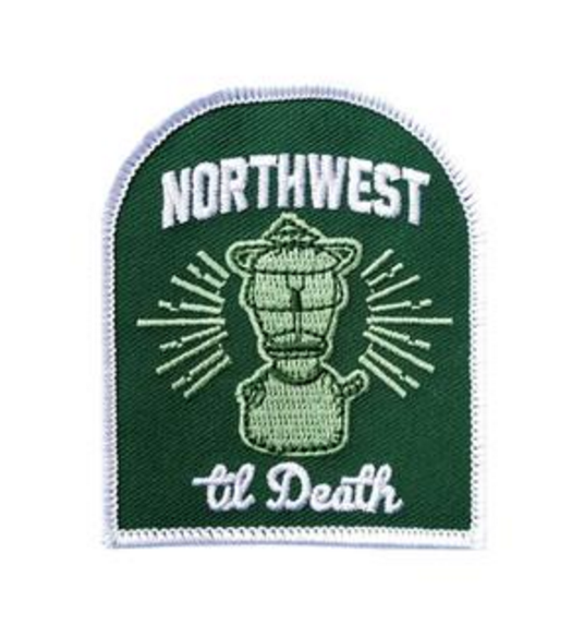 NWTD Lantern Embroidered Patch