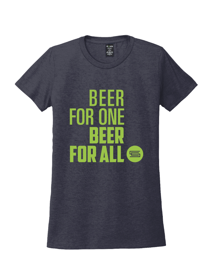 Beer 4 One · Ladies Tee