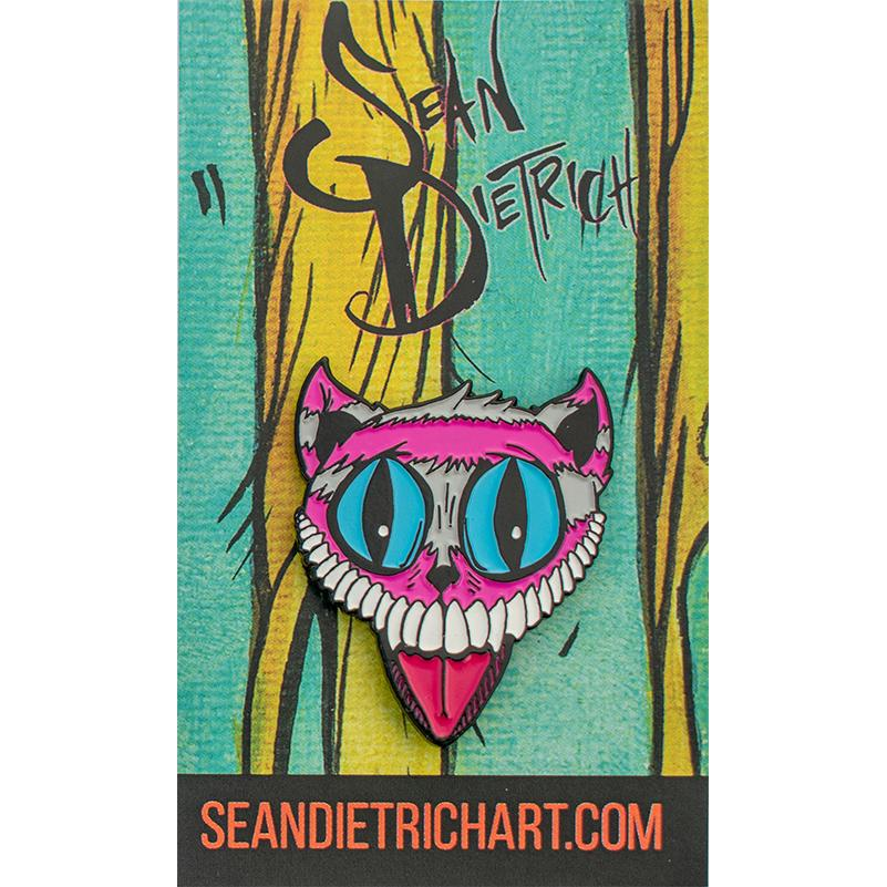 SD Cheshire Cat · Enamel Pin