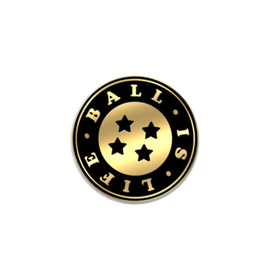 Ball is Life Enamel Pin