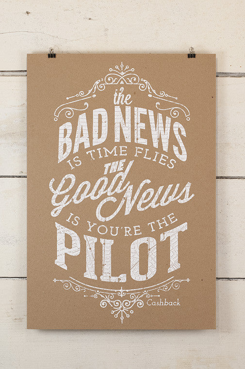 Bad News Print Sam Enlow