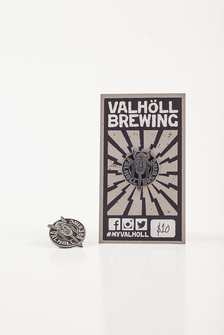 Valholl Brewing – Enamel Pin