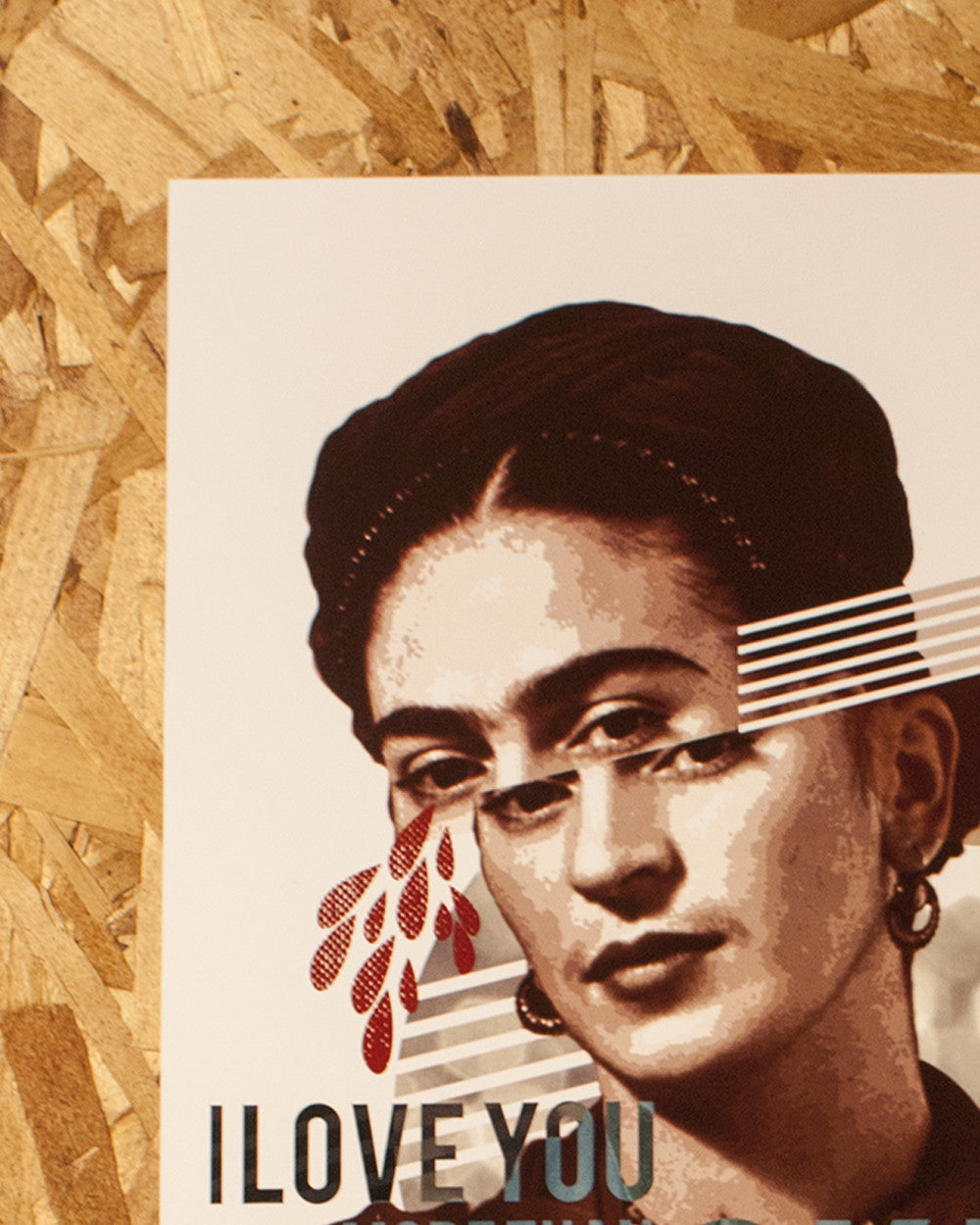 Frida Kahlo Sam Enlow Print