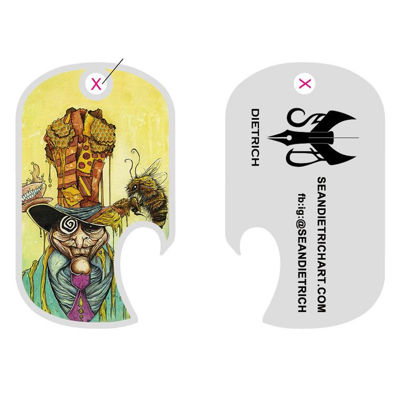 SD Honey Hatter Bottle Opener