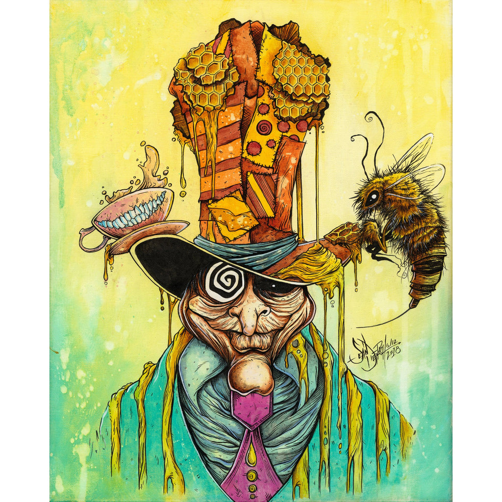 SD Honey Hatter Print