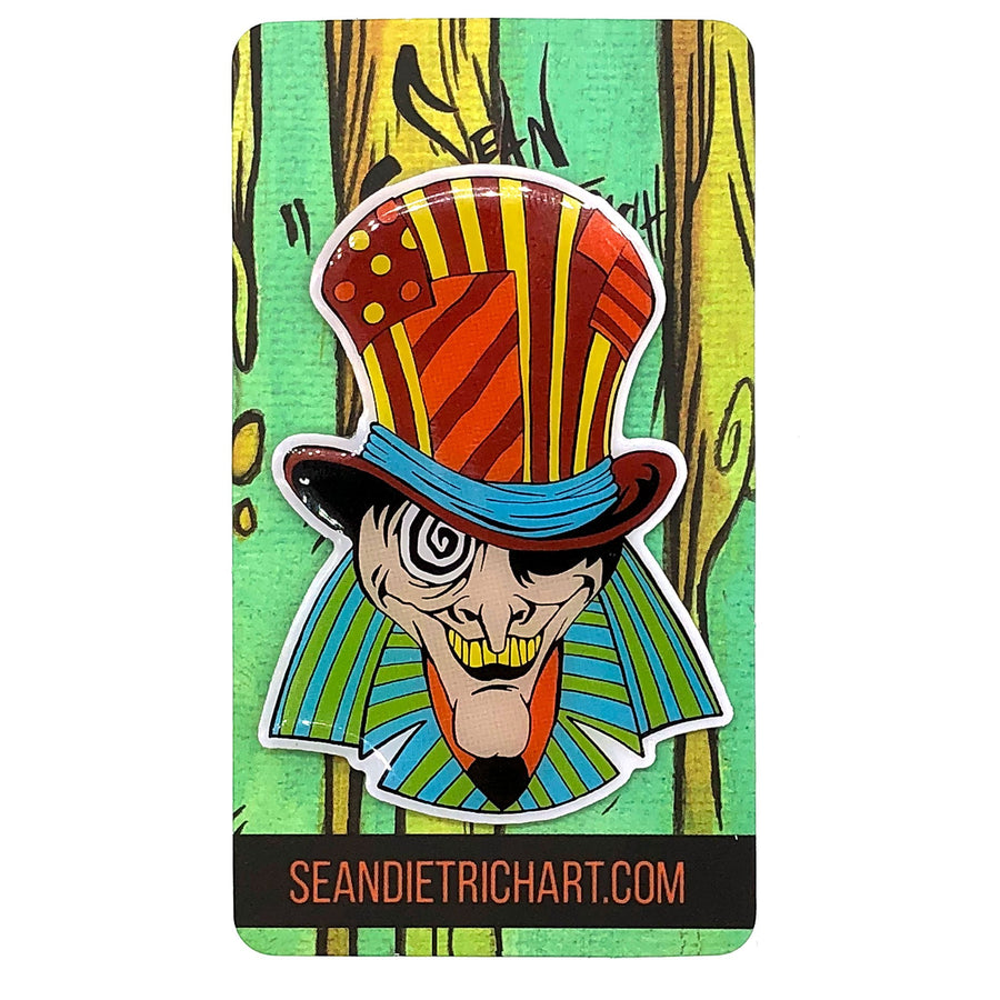 Sean Dietrich Mad Hatter Enamel Pin
