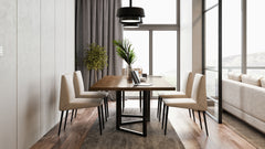 What other piece plays so many roles? Let our EQ.UI Table play the spot that does it all at your home.  To discover more about our Dining Collections, visit our showroom: Villa 5, 265 St, New Ma'adi, Cairo