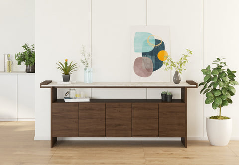 DE.CI Furniture HO.LD Marble Sideboard