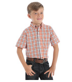 Boy's Riata Short Sleeve - Orange