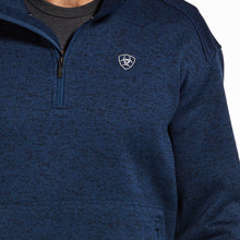 Load image into Gallery viewer, Caldwell 1/4 Zip-Indigo Heather
