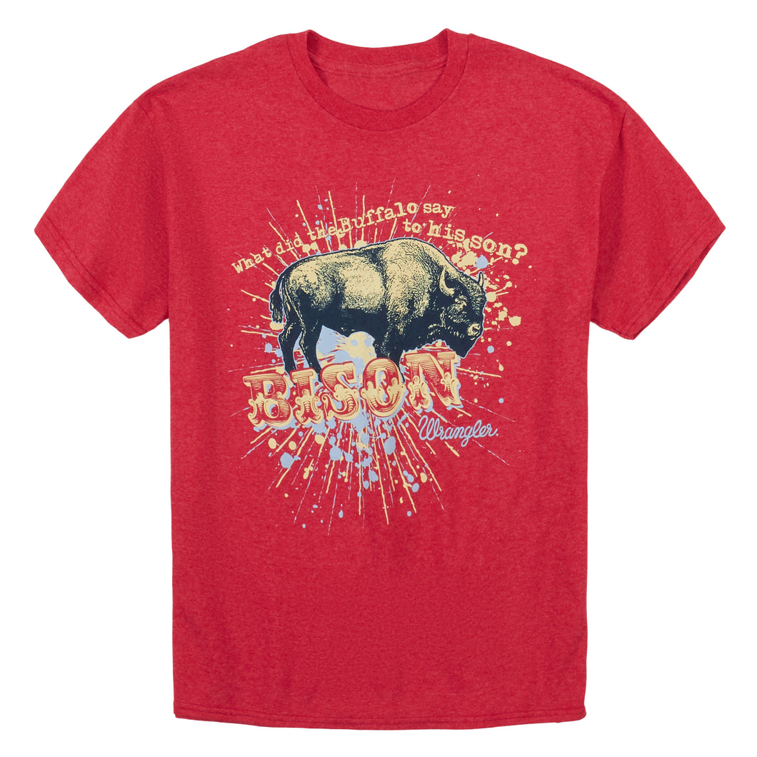 Youth Wrangler T-Shirt--Bison