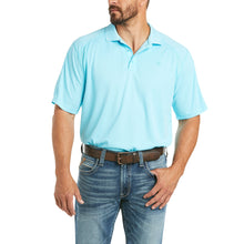 Load image into Gallery viewer, Ariat AC Polo-Aqua Tropics