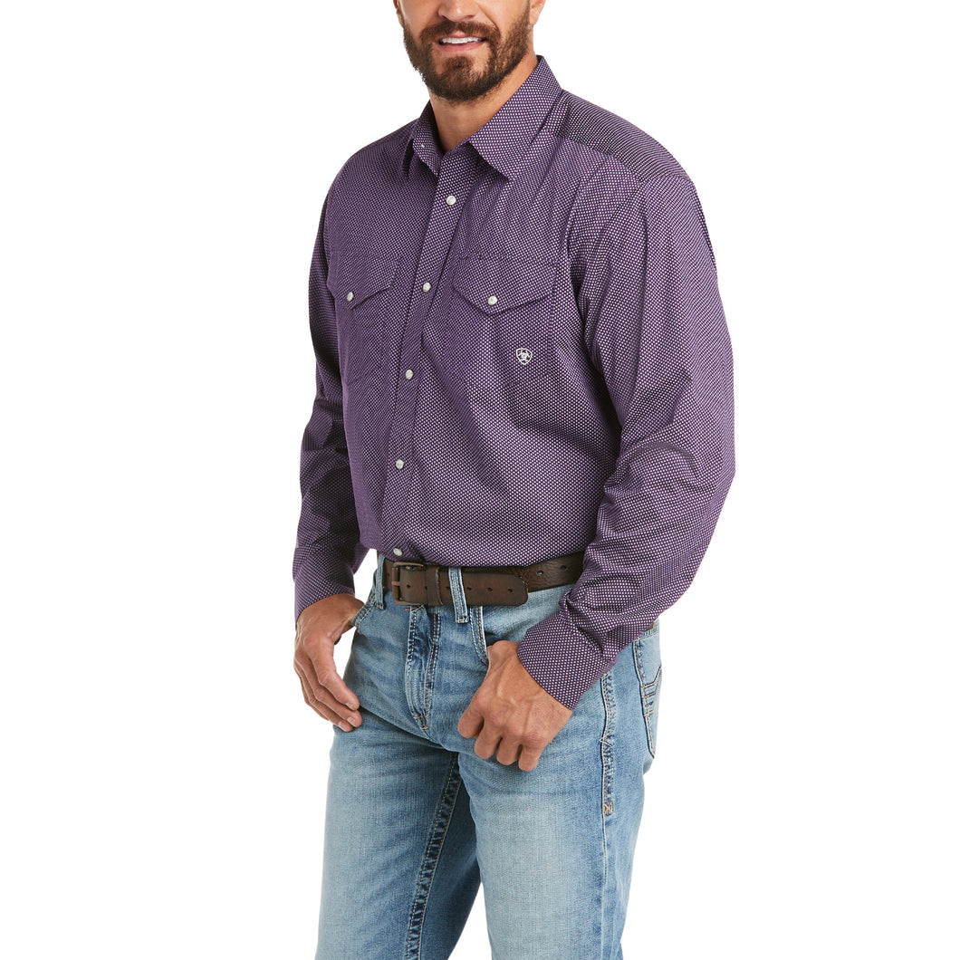 Ariat Classic Stretch Long Sleeve-Casper