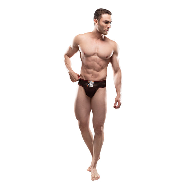 Black Panther Micro Brief Supporter Twin Pack Brown [2 PCS]