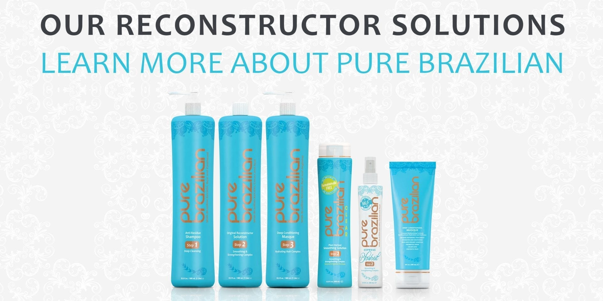 WE SELL OUR PROFESSIONAL SMOOTHING PRODUCTS TO CERTIFIED PURE BRAZILIAN STYLISTS AND SALONS ONLY