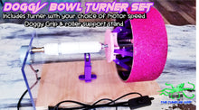 Load image into Gallery viewer, NEW!!! Doggy Bowl Grip & Turner Set