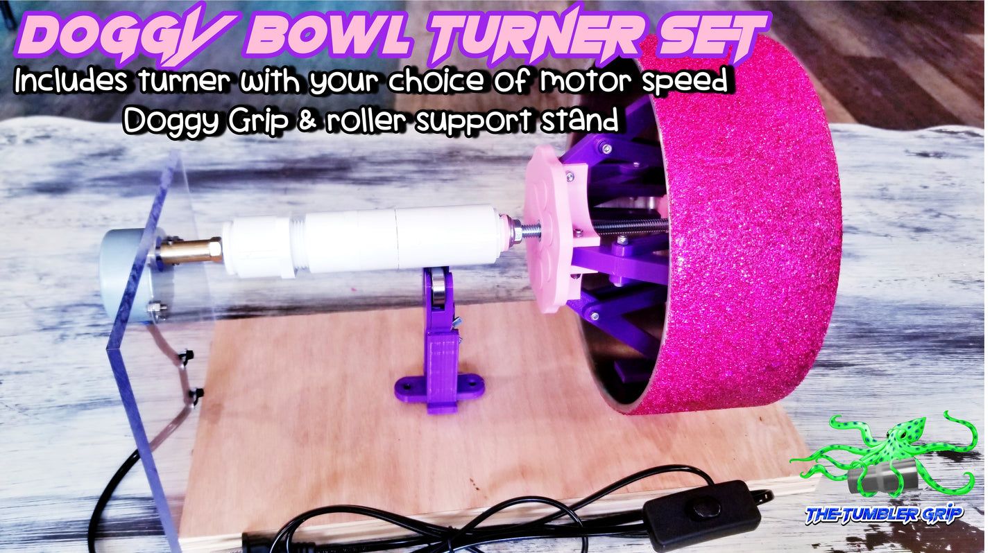 NEW!!! Doggy Bowl Grip & Turner Set