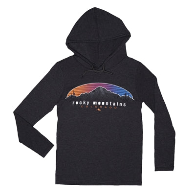 Longsleeve Hooded Horizontal