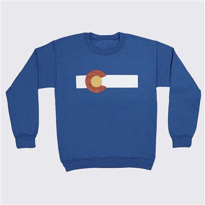 CO Flag Crewneck Sweatshirt