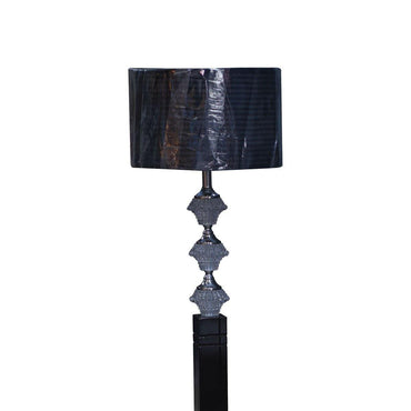 Wooden-Pillar 1 Floor Lamps