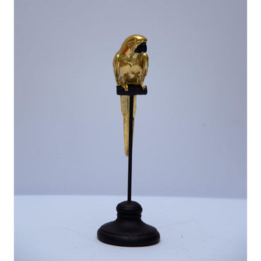 Golden Parrot Decor
