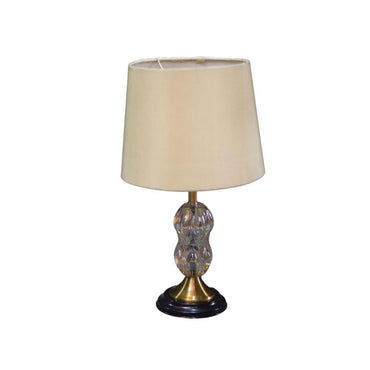 Golden Tined Lamp