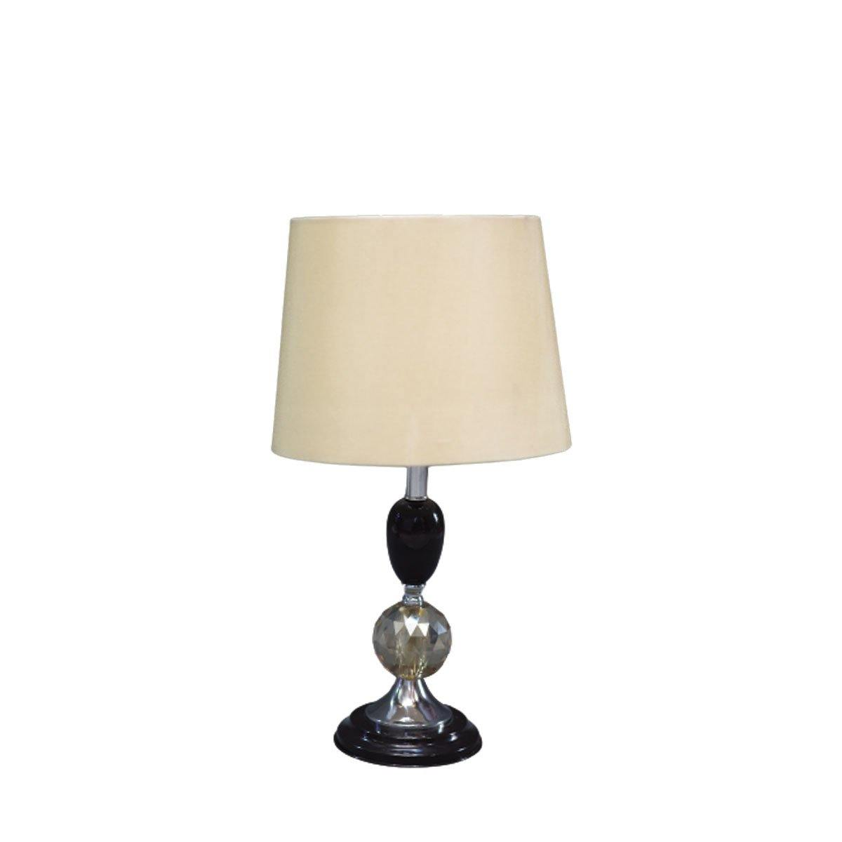 Black Tined Lamp