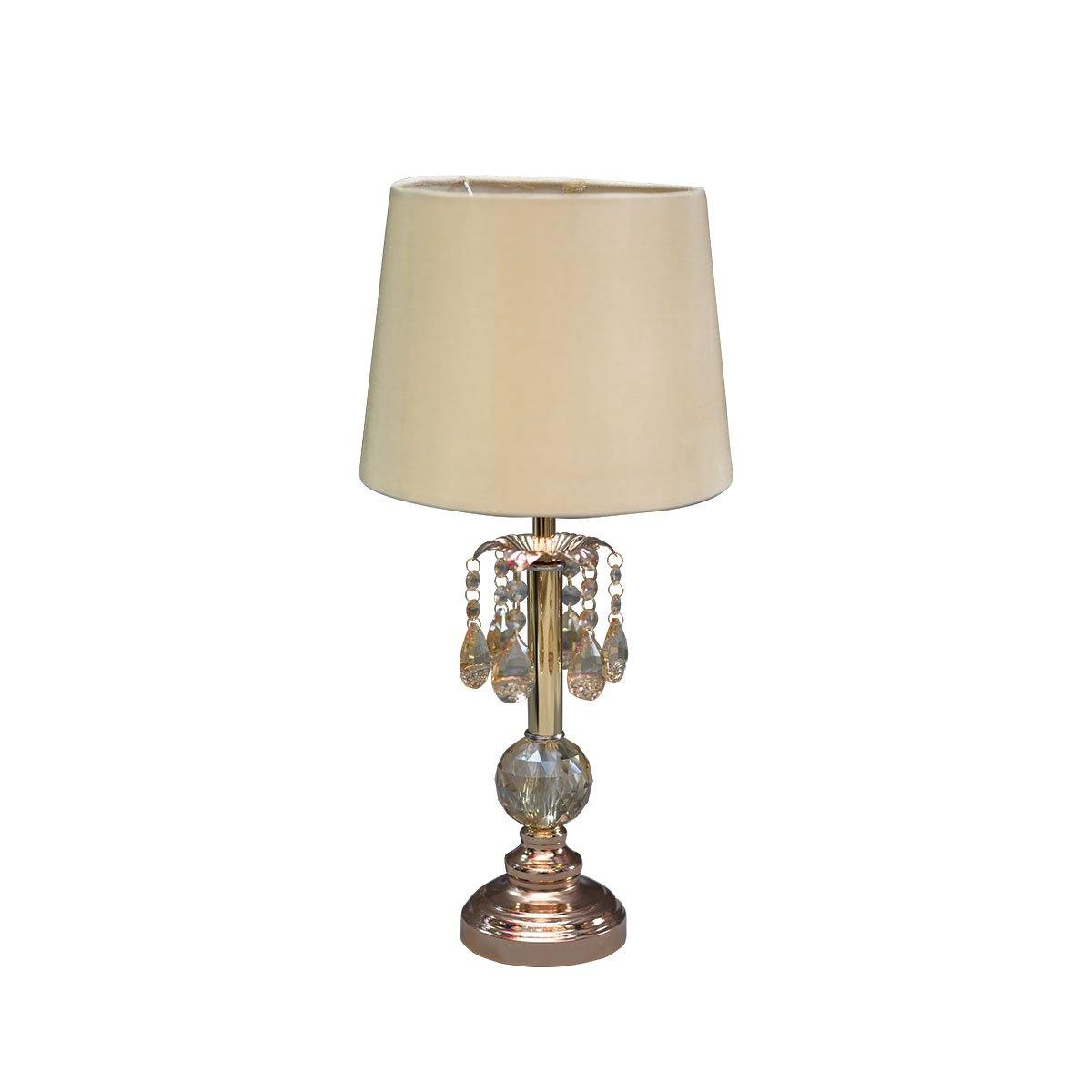 Crystal Hangs Table lamp Golden