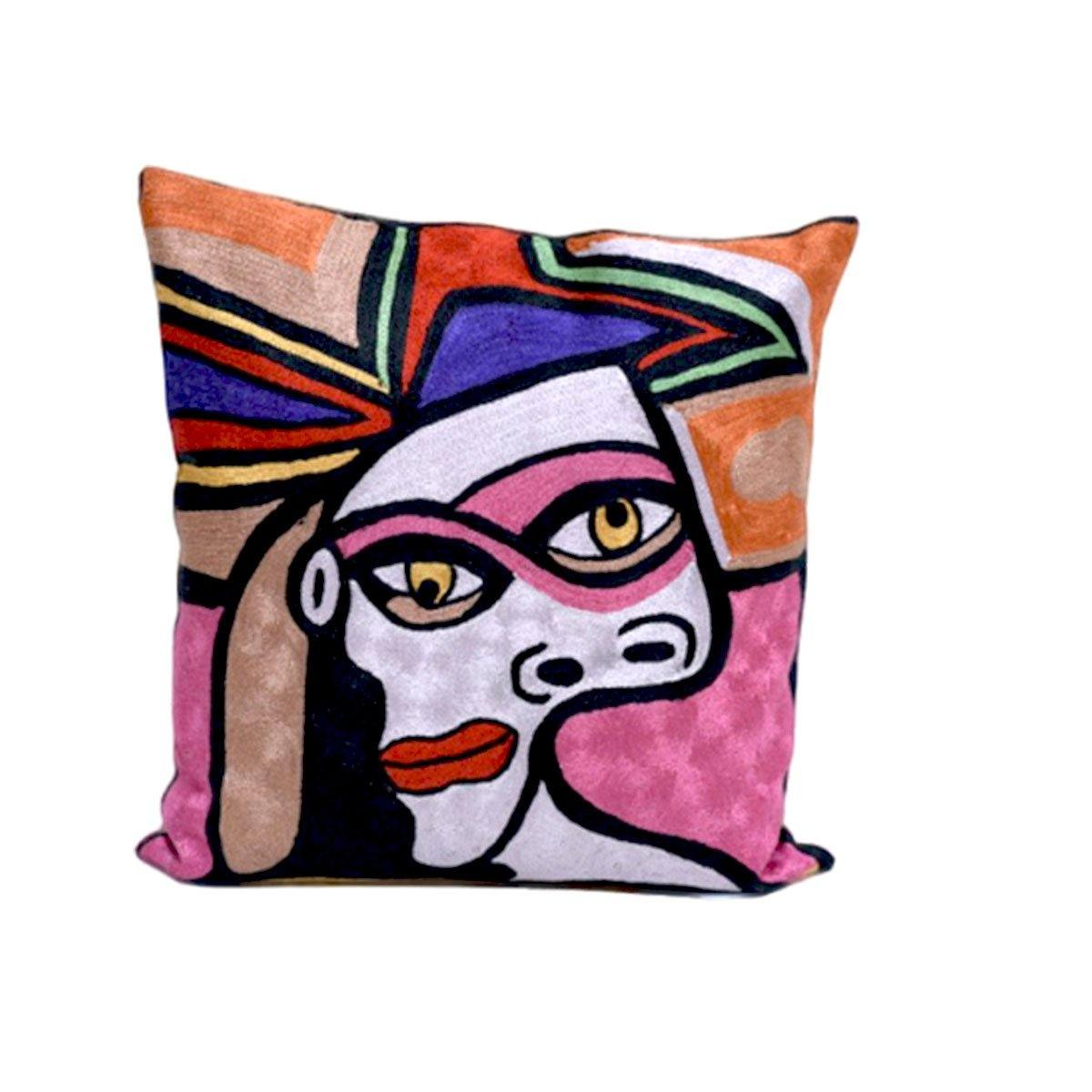 Double Face Embroidery Cushions